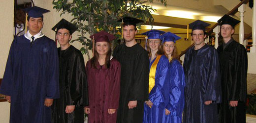 2009 graduates at the Expo